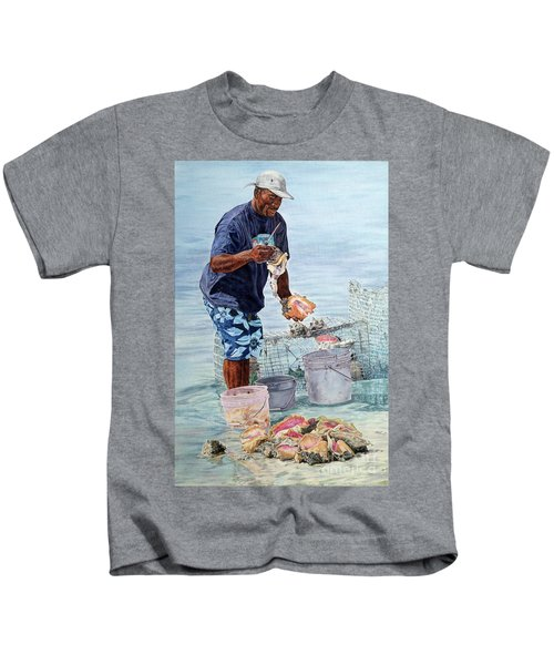 The Conch Man Kids T-Shirt