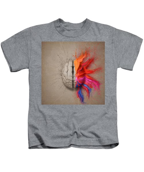 The Creative Brain Kids T-Shirt