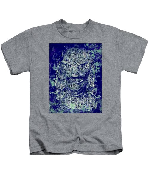 Creature From The Black Lagoon Kids T-Shirt