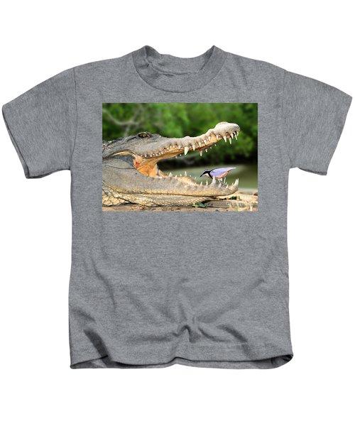 The Crocodile Bird Kids T-Shirt