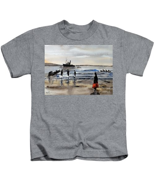The Dun Aengus Off Aran, Galway Kids T-Shirt