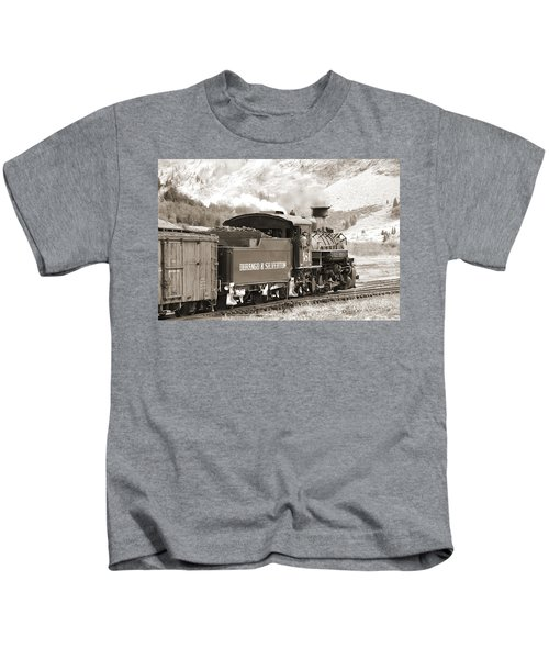 The Durango And Silverton Into The Mountains Kids T-Shirt