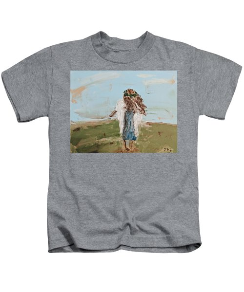The Edge Of The Field Kids T-Shirt
