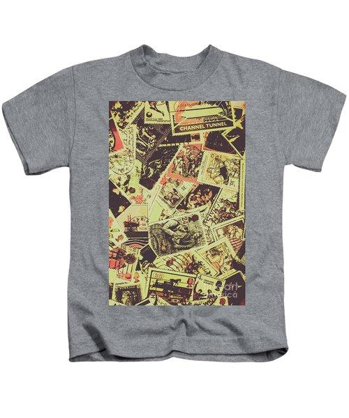 The English Postage Scene Kids T-Shirt
