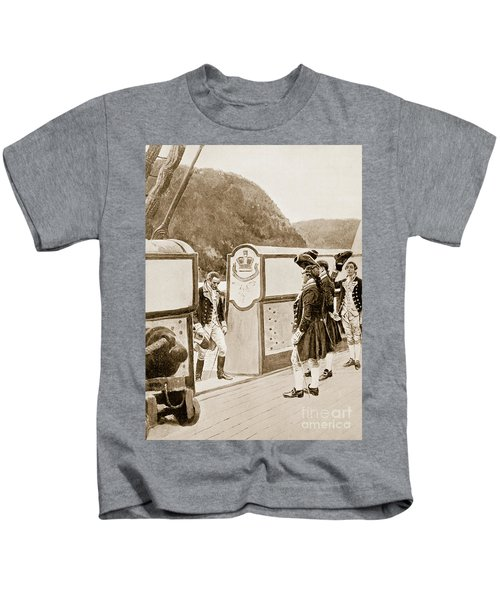 The Escape Of Arnold On The British Sloop Of War, Vulture  Kids T-Shirt