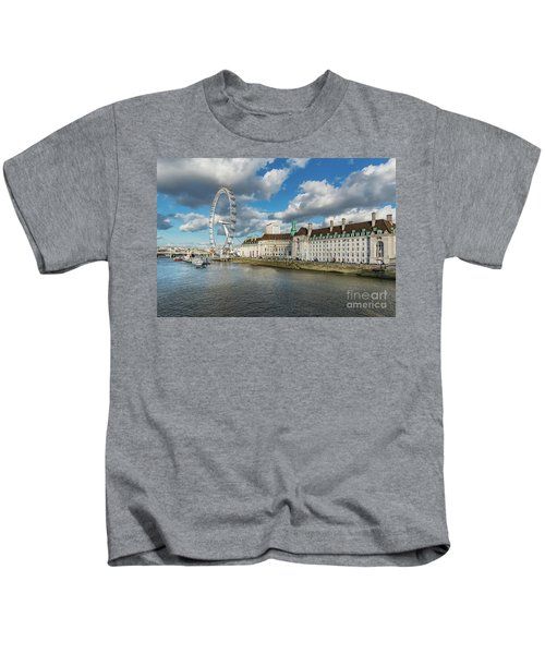 The Eye London Kids T-Shirt by Adrian Evans