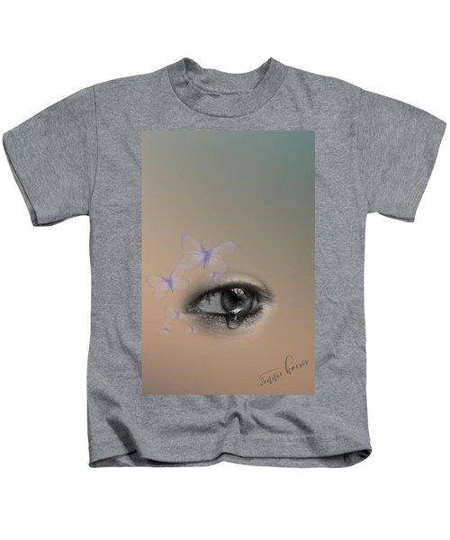 The Eyes Don't Lie Kids T-Shirt