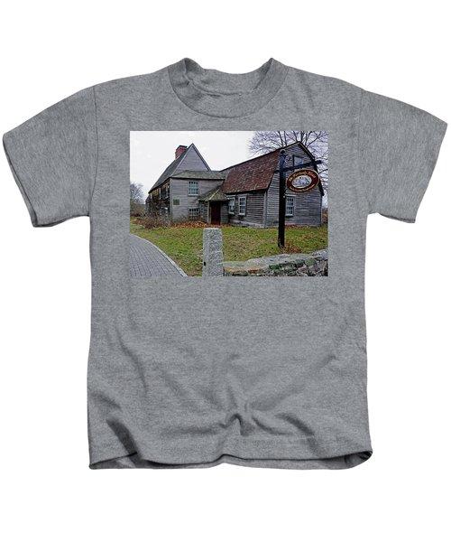 The Fairbanks House Kids T-Shirt