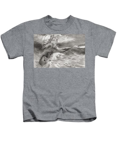 The Flying Dutchman. A Ghost Ship That Kids T-Shirt