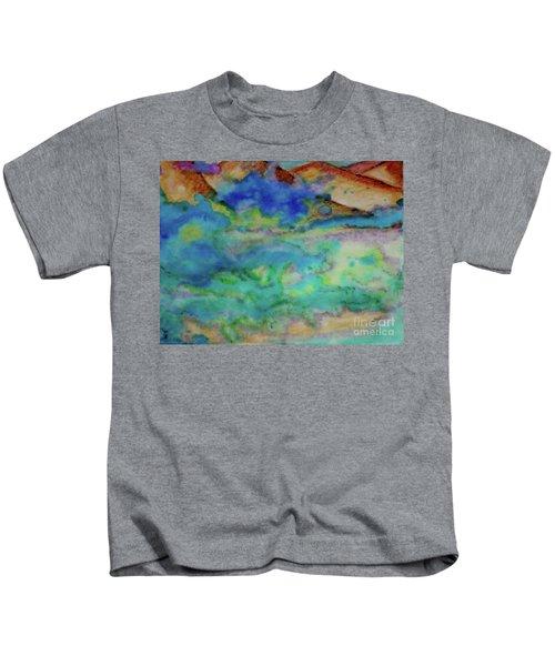 The Fog Rolls In Kids T-Shirt