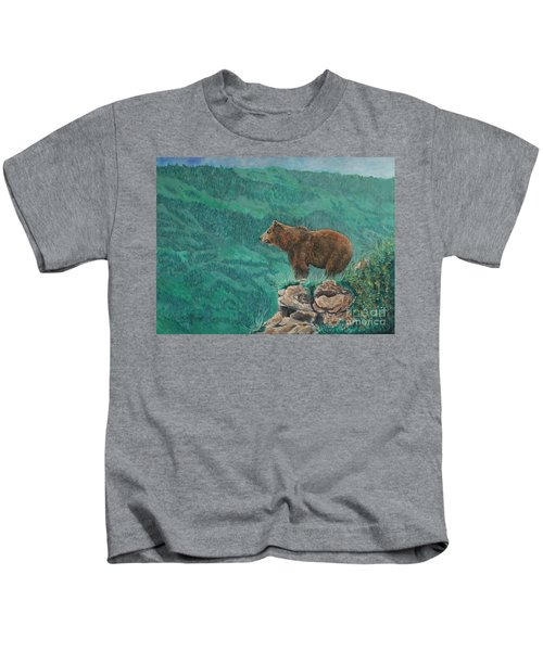 The Franklin Grizzly Bear Kids T-Shirt