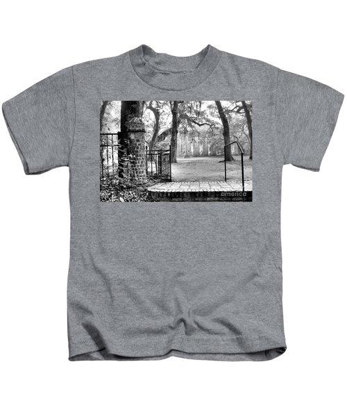 The Gates Of The Old Sheldon Church Kids T-Shirt
