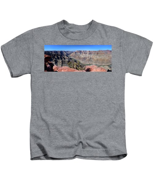 The Grand Canyon Panorama Kids T-Shirt