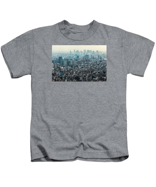 The Great Tokyo Kids T-Shirt by Peteris Vaivars