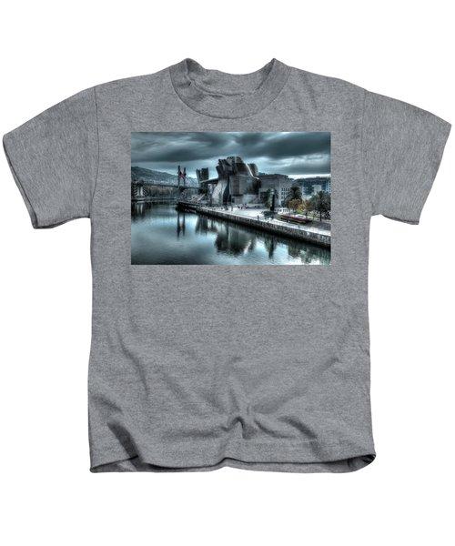 The Guggenheim Museum Bilbao Surreal Kids T-Shirt