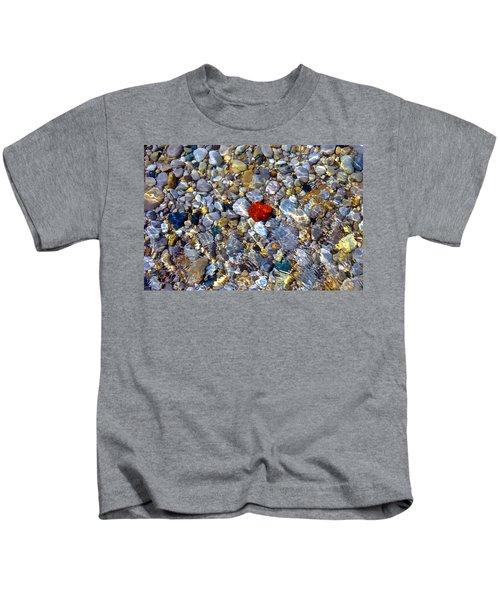 The Heart Of Lake Michigan Kids T-Shirt