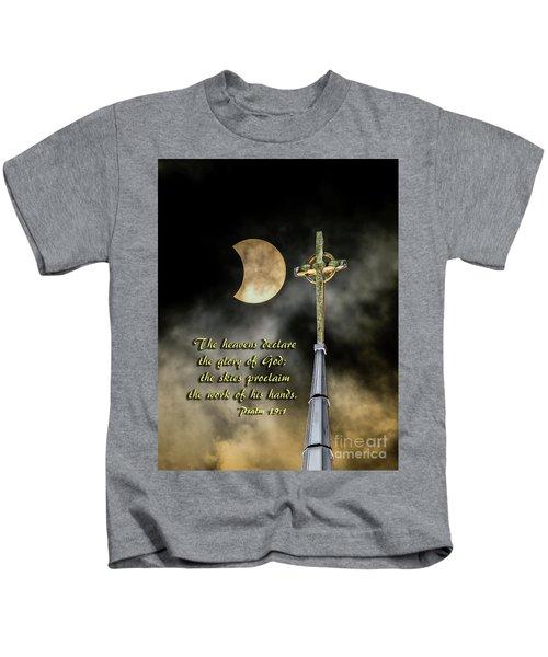 The Heavens Declare The Glory Of God Kids T-Shirt