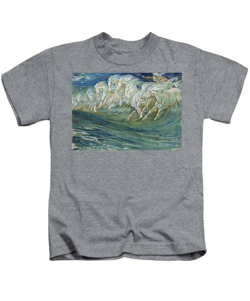 The Horses Of Neptune Kids T-Shirt