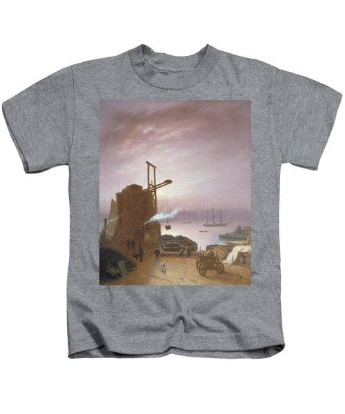 The Hudson River From Hoboken Kids T-Shirt