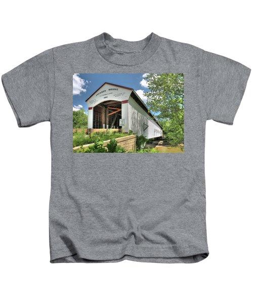 The Jackson Covered Bridge Kids T-Shirt