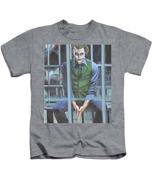 The Joker Kids T-Shirt by Colm Hutchinson