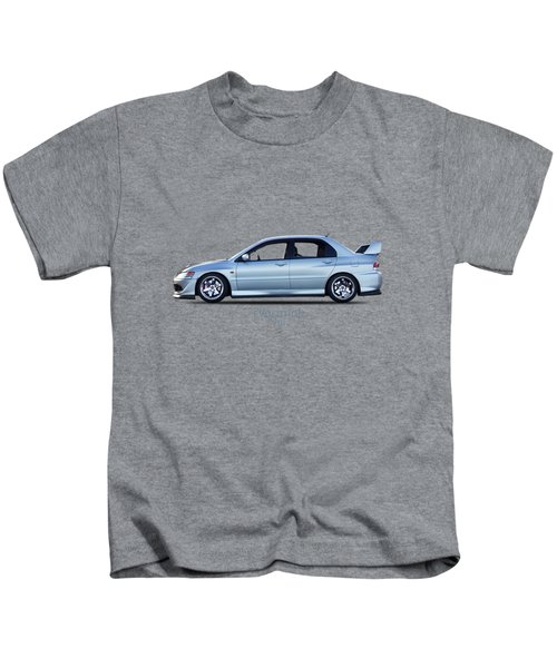 The Lancer Evolution Viii Kids T-Shirt by Mark Rogan