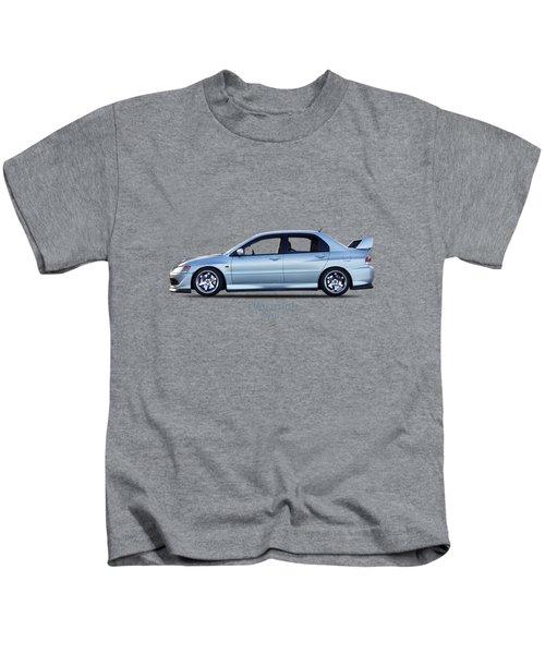 The Lancer Evolution Viii Kids T-Shirt