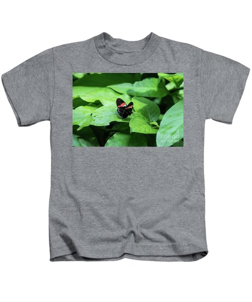 The Leaf Is My Plate Kids T-Shirt