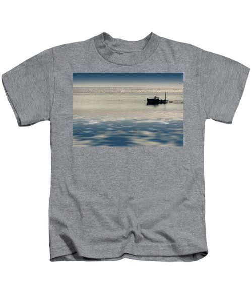 The Lobster Boat Kids T-Shirt