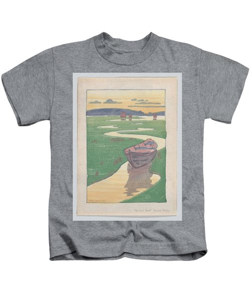 The Lost Boat , Arthur Wesley Dow Kids T-Shirt