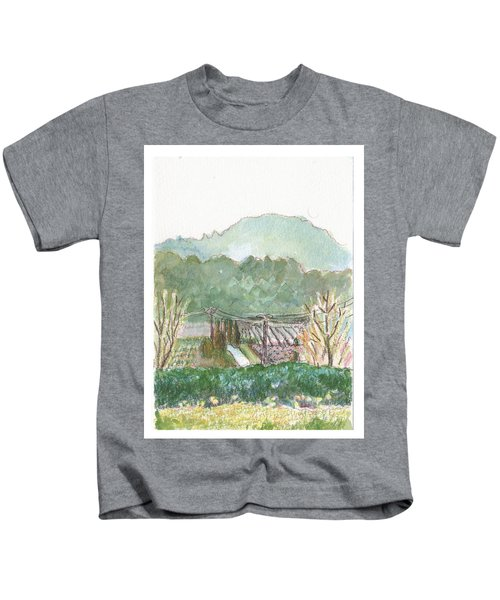 The Luberon Valley Kids T-Shirt