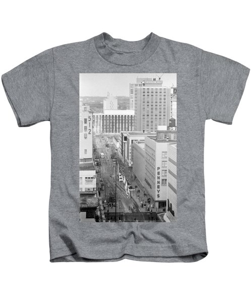 The Mall From Dayton's 12th Floor Kids T-Shirt