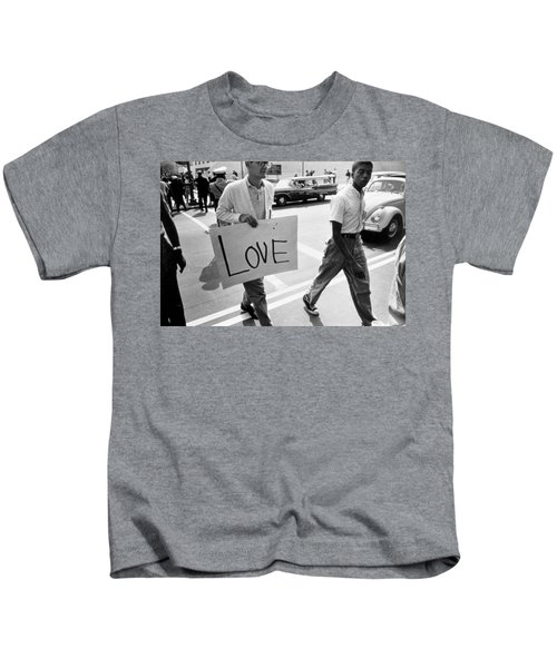 The March On Washington   Love Kids T-Shirt