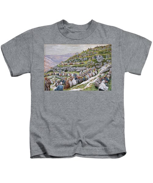 The Miracle Of The Loaves And Fishes Kids T-Shirt