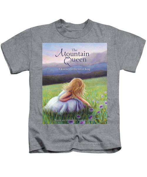 The Mountain Queen Book Cover Kids T-Shirt
