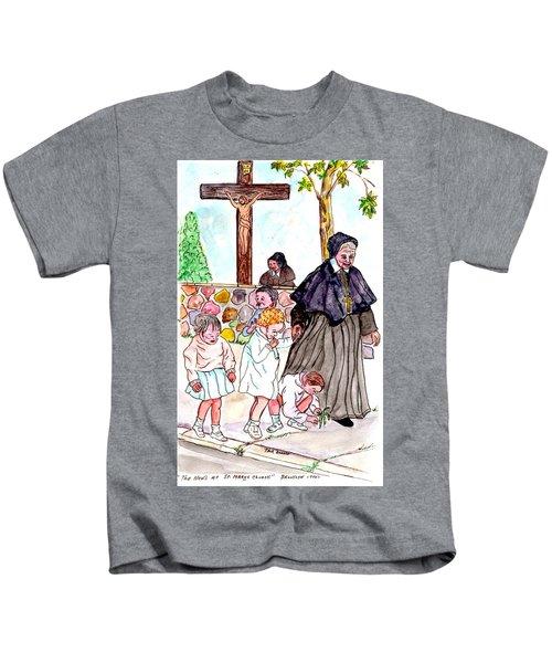 The Nuns Of St Mary's Church Kids T-Shirt