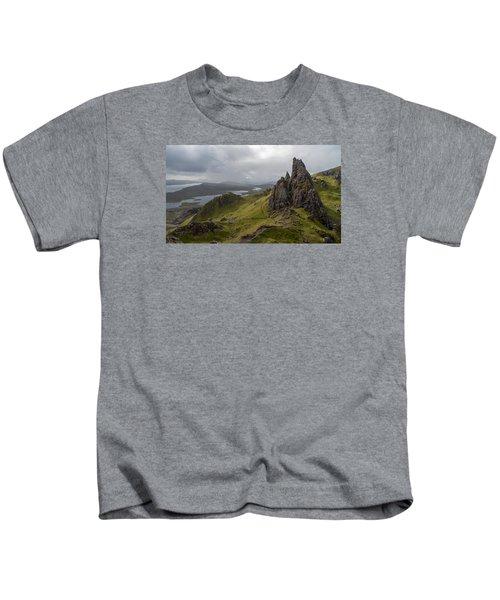 The Old Man Of Storr, Isle Of Skye, Uk Kids T-Shirt