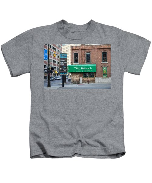 The Old Shillelagh Detroit  Kids T-Shirt