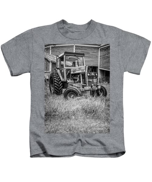 The Old Tractor By The Old Round Barn II Kids T-Shirt
