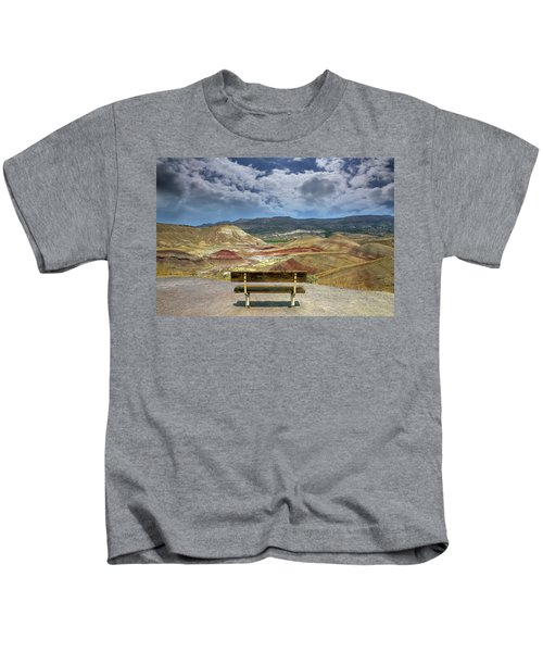 The Overlook At Painted Hills In Oregon Kids T-Shirt