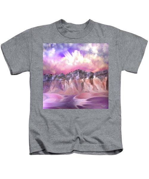 The Painted Sand Rocks Kids T-Shirt