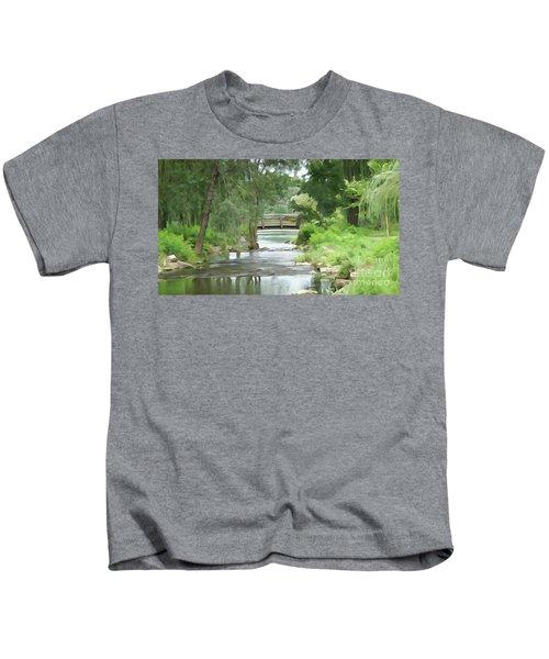The Pasture's Bridge Kids T-Shirt