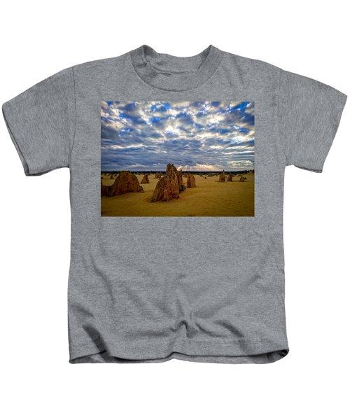 The Pinnacles Sunset Kids T-Shirt