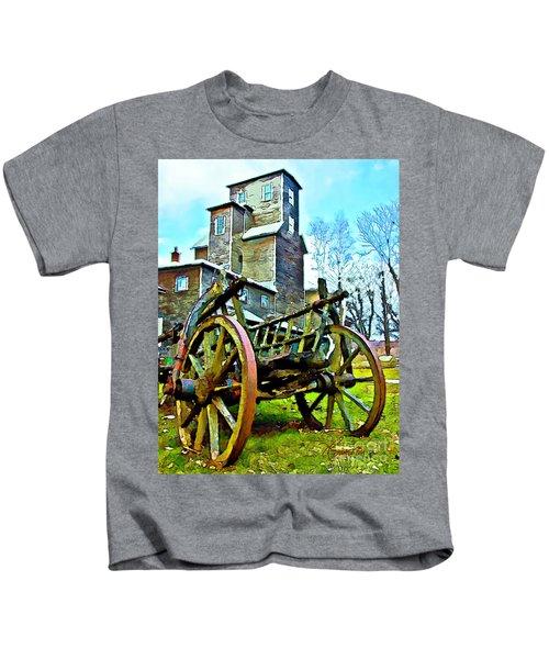 The Pottery - Bennington, Vt Kids T-Shirt