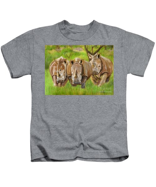 The Power In Three Kids T-Shirt