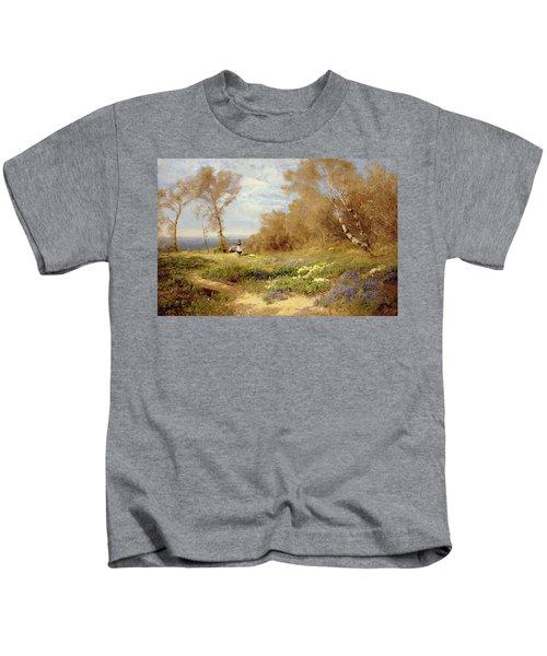 The Primrose Gatherers Kids T-Shirt