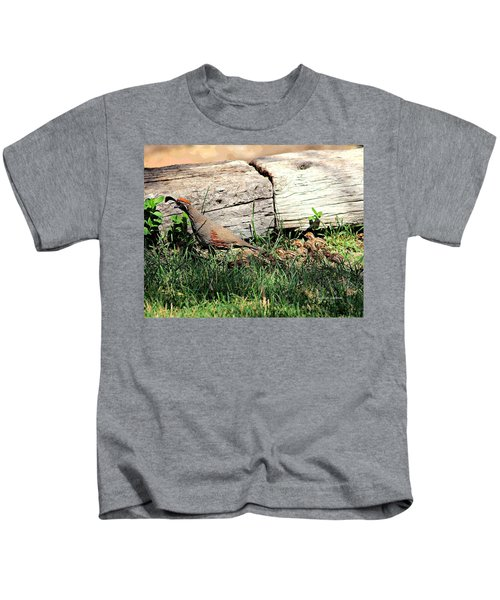 The Quail Family Kids T-Shirt