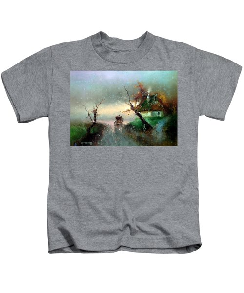The Rays Of The Morning Sun Kids T-Shirt