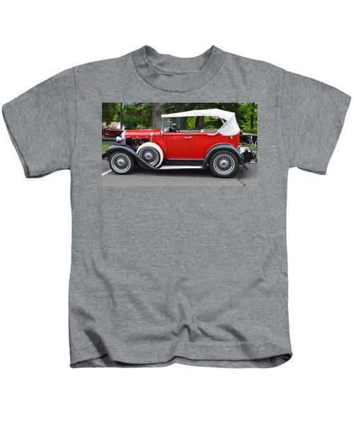 The Red Convertible Kids T-Shirt