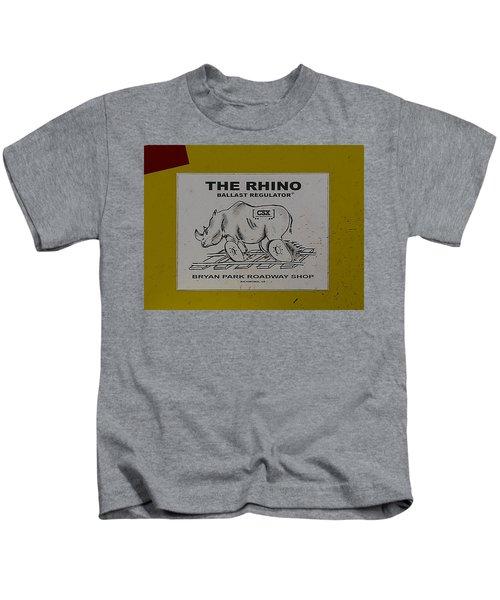 The Rhino Ballast Regulator Kids T-Shirt